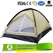 Wasserdichtes Zelt mit Rahmenstruktur