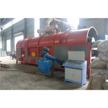 Gestão de resíduos de biomassa carbonização forno preço com CE