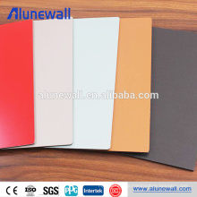 High glossy interior wall decoration metal texture aluminum composite panel
