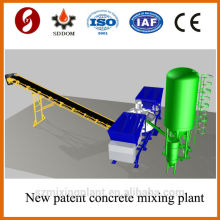 Patent neues Produkt 20-25m3 / h mobile Betonmischanlage, Betonmischanlage.Konstruktionsanlage