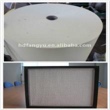 Papier filtre à air en fibre de verre F8
