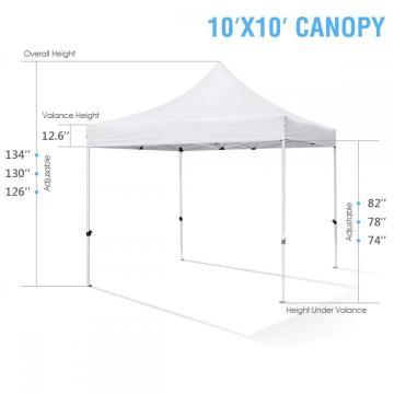 top camping party 10x10 wasserdichtes pavillon zelt