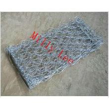 reno-mattress / verde terramesh piedra jaula de alambre gabion malla de alambre hexagonal