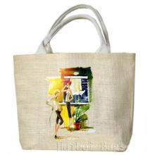2013 модная сумка-тоут из джута (hbjh-56)