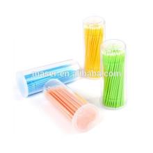 100pcs Eyelash Extensão MicroBrushes, Micro escovas Eyelash Extensão Ferramenta / Cola Removendo Ferramenta