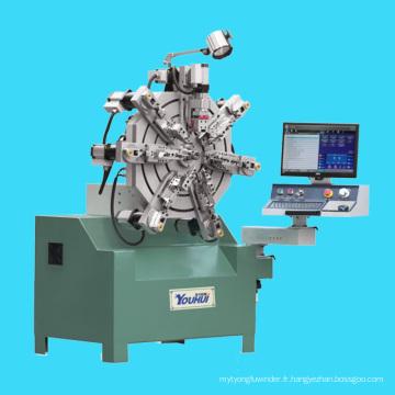 Machine d'enroulement à bobine creuse multifonction automatique complète