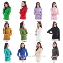 Stocked and oem basic simple modal t shirt women Islamic muslim clothes