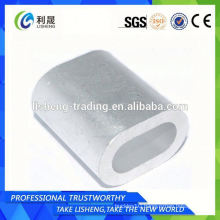 DIN3093 aluminium sleeve low price wire rope sleeves