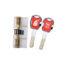 Noyau transparent de serrure de cylindre de pratique avec les clés de 8 voies pour la formation de serrurier