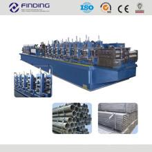 steel welded pipe roll forming machine