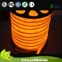 Orange LED Neon Flex Strip Light for Holiday Decoration