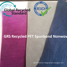 GRS RPET Spunbond Nonwoven Fabric
