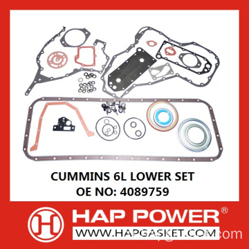 CUMMINS 6L LOWER SET 4089759