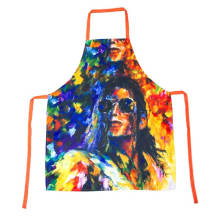2018 KEFEI Salon Painting Custom Printed Apron