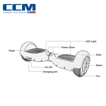 High Quality Customised Hot selling two wheels self balancing scooter