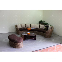 Water Hyacinth hot trendy Living Sofa Indoor Home Furniture with table