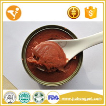 Alimentos para cães molhados Alimentos para cães orgânicos Alimentos para cães com lata de sabor de atum