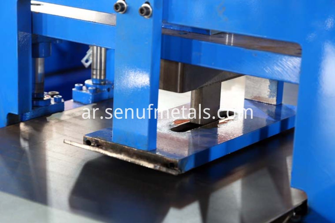 highway guardrail forming machine punching press (5)