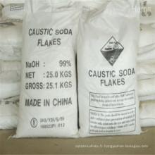 Perles d'usine directe / flocons 99% de soude caustique