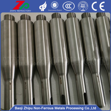 Heavy molybdenum hammer for monocrystal growth furnace