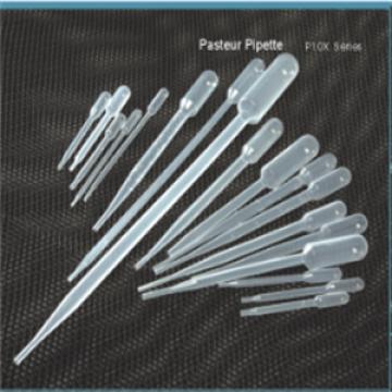 Pipeta Pasteur de plástico descartável
