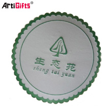 Práctico de costa del café del papel absorbente del regalo de la promoción de encargo