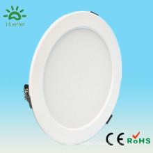 Shenzhen blanc rond forme mince 100-240v 6 pouces smd5730 15w lampe de chauffage au plafonnier