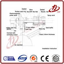 Pulse electric solenoid valve