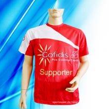 100% Polyester Man's Print T-Shirt