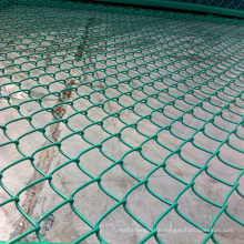 PVC Used Chain Link Fence for Sale