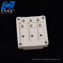 Calentador cerámico aislante con termostato regulable.