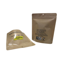 High quality zipper clothing packaging bag