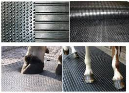 Anti-Slip hammer rubber cow mat