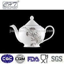 A036 Antique wholesale sliver decorative porcelain coffee water pot