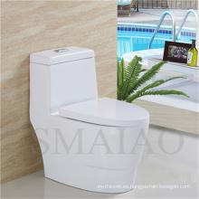 Recién llegado sanitarios baño baño One Piece inodoro Siphonic (8112)