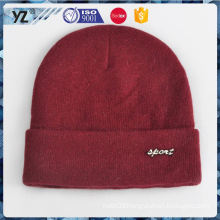 Factory sale novel design men's knit hat with good price