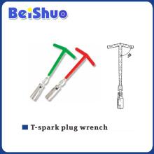 T-Spark Plug T Handle Universal Wrench para o reparo do carro