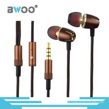 Auriculares móviles de alta calidad con control de volumen y micrófono