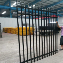 Decoration Zinc Steel Guardrail Wrought Iron Fence
