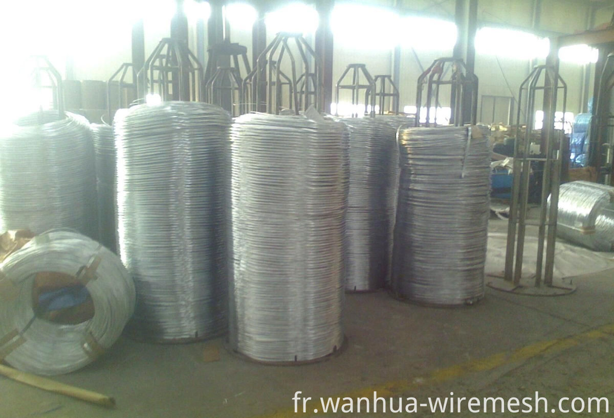 1.8mm2.0mm Oval Galvanized Steel Wire