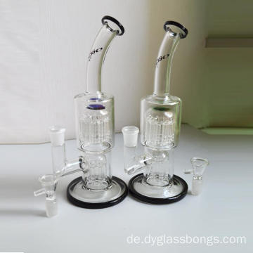 Glasbongs mit 6-armigem und 10-armigem Tree Percolator
