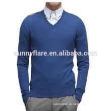 Suéter de 100% de caxemira de alta qualidade elegante