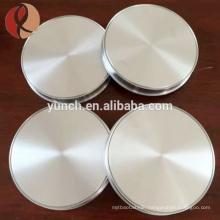 Factory Price Pure Titanium Sputtering Target 99.99