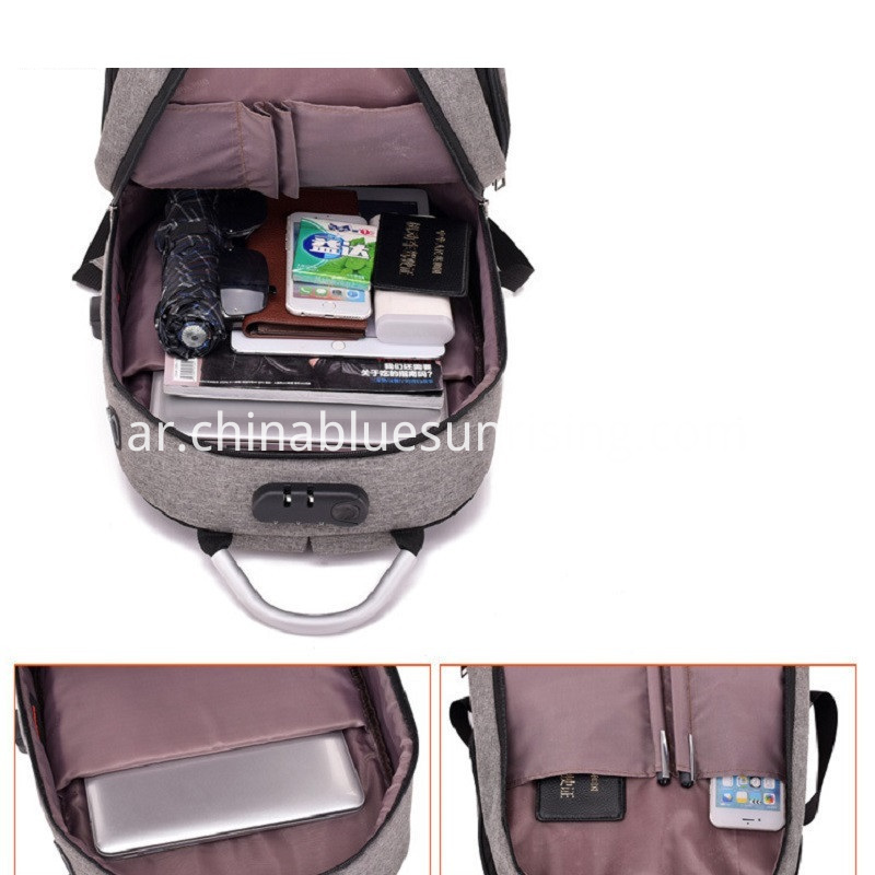 Hot Sale USB Rechargeable Backpack