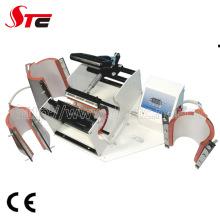 Máquina de impressão da caneca cerâmica de Combo Digital multifuncional 4 em 1
