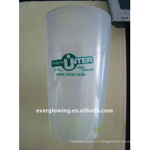 lueur tasse en plastique