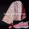Snake reflective fabric for the shoes /Silver Reflective Mesh Fabric for Sports Shoes, Casual Shoes