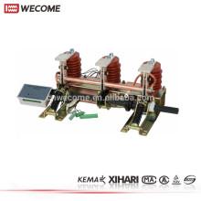 KEMA a témoigné le commutateur électrique à haute tension de commutateur 650mm