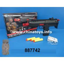 Pistola de juguetes de plástico baratos con bala de agua, bala suave (887742)
