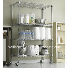 Ideal Restaurante Hotel Metal Catering Trolley (HD244872A4C)